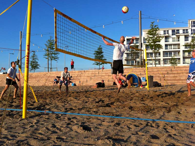 Beachvolleybal Nesselande